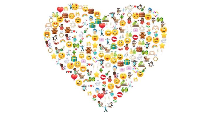 Смайлики для Скайпа о любви